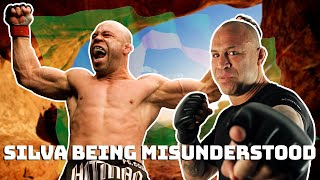 Wanderlei Silva being misunderstood