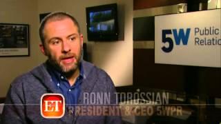 Ronn Torossian, CEO 5W Public Relations,Entertainment Tonight on Matt Lauer & Today Show