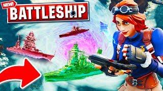 *NEW* BATTLESHIPS 2V2 In Fortnite Battle Royale! | w/ Vikkstar123, KYRSP33DY & SideArms