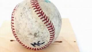 Бейсбольный мяч в разрезе