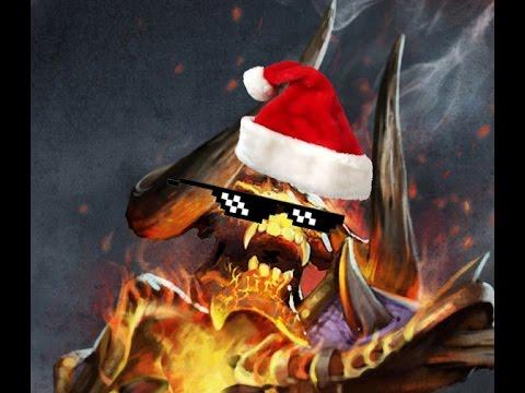 видео: [dota 2]#24 Новогодний Тутор на Клинкза[Огненный дрочун]