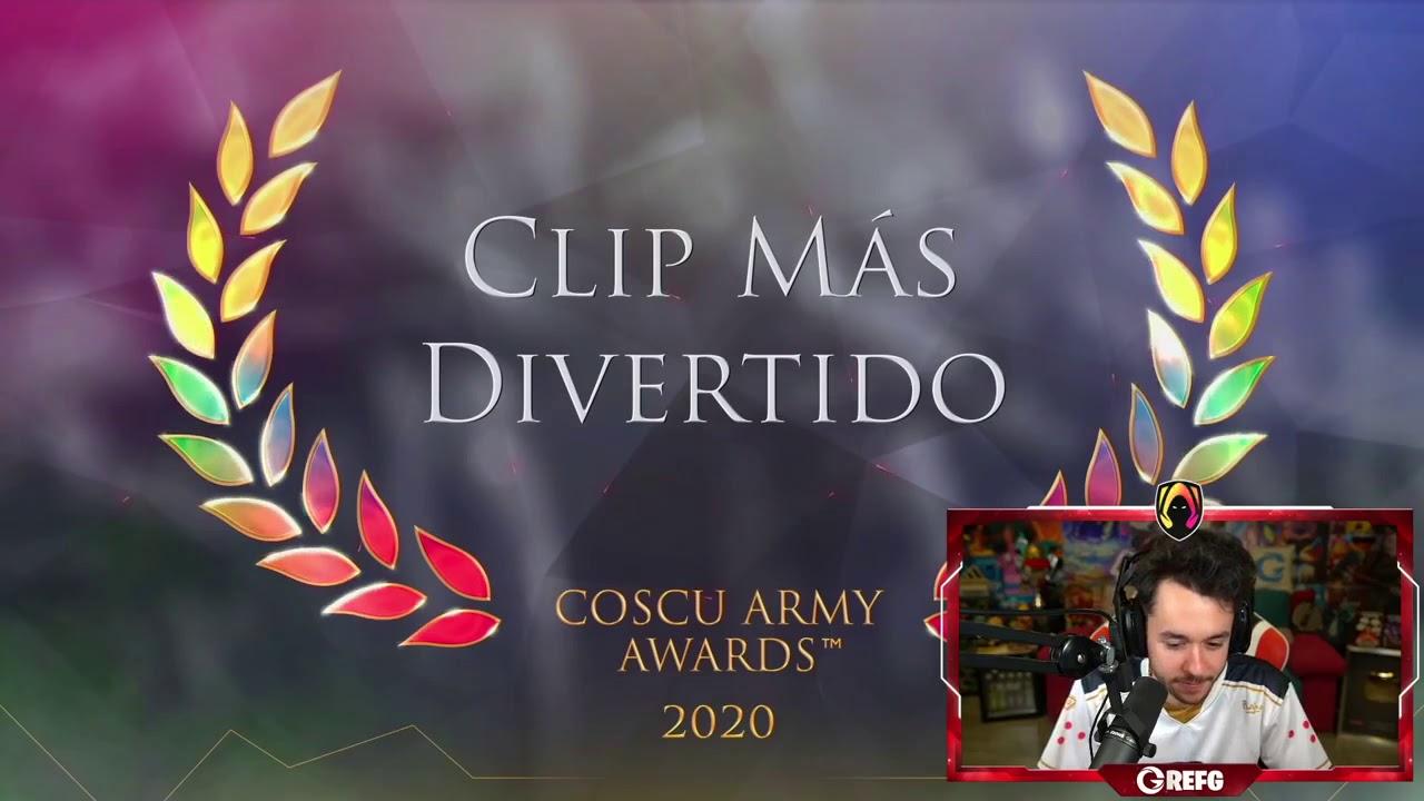 Download THE GREFG REACCIONA A MEJORES CLIPS DE LA COSCU ARMY AWARDS