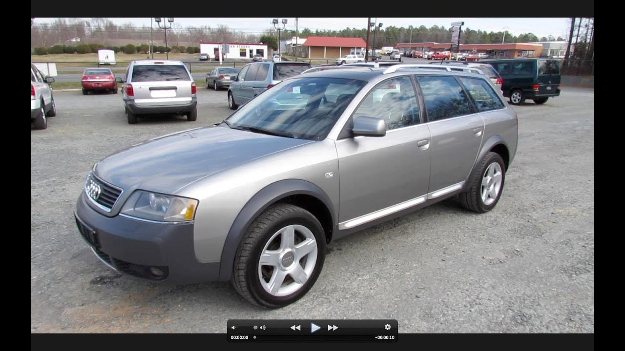 2003 Audi Allroad Quattro Biturbo Start Up Exhaust And In Depth Review You