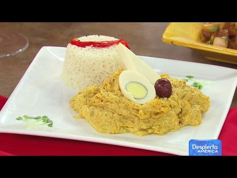 How To Make Aji de gallina | Top Tasty Food From Delicias TipHero #2