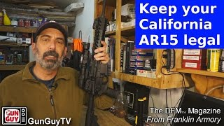 Keep your California AR15 legal with Franklin Armory