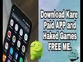 Download Paid App and Hacked Games In Free (2017)