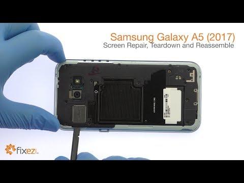 Samsung Galaxy A5 (2017) Screen Repair, Teardown and Reassemble Guide - Fixez.com