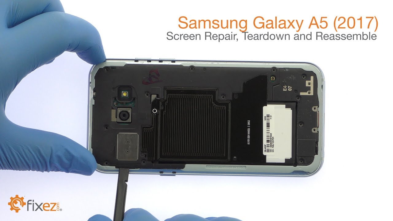 Samsung Galaxy A5 2017 Screen Repair Teardown And Reassemble