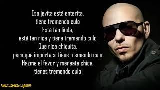 Pitbull - Culo ft. Lil Jon (Lyrics)