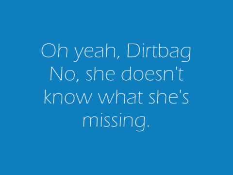 One Direction - Teenage Dirtbag Lyrics - YouTube