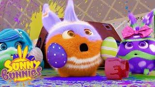 Sunny Bunnies | SUNNY BUNNIES - 부활절 계란 | 어린이를위한 재미있는 만화 | WildBrain