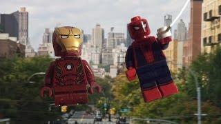 LEGO Человек Паук: Возвращение домой трейлер 1