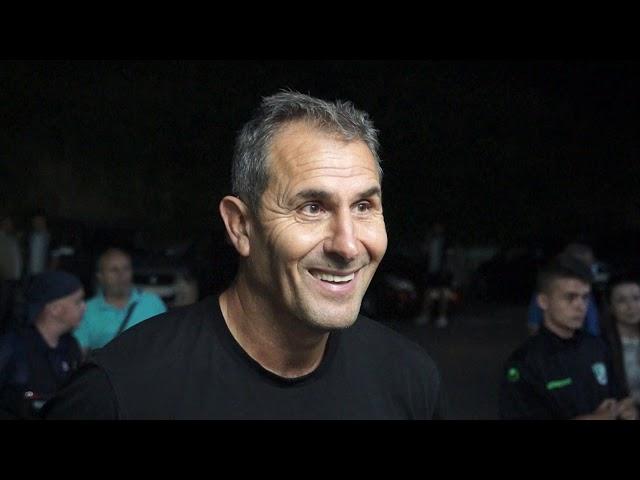 Димитър Димитров след Берое - Славия (08.07.2020)