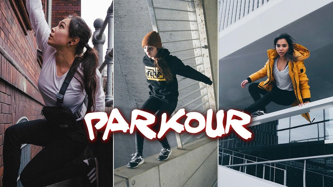 Download The World's Best Girls parkour And freerunning 2020