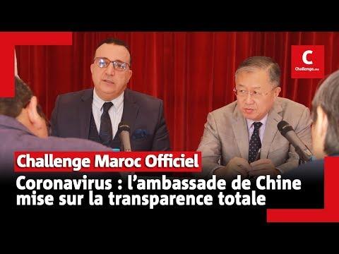 Coronavirus : L'ambassade De Chine Mise Sur La Transparence Totale