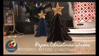 Paper Christmas Trees 2018