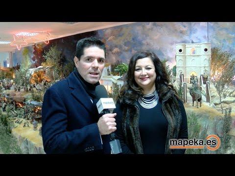 ESPECTACULAR BELEN DE NAVIDAD MUNICIPAL ARCHENA. BELENES 2015