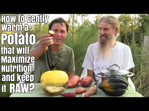 How to Gently Warm a Potato that will Maximize Nutrition and