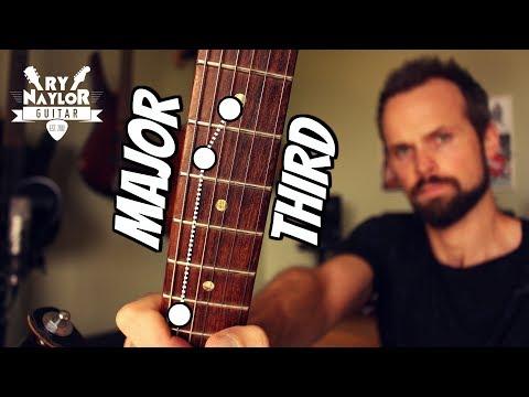 Guitar Major Thirds - Guitar Intervals Lesson