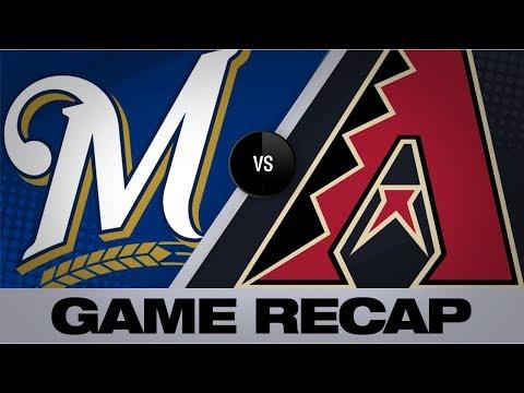6-run 3rd inning helps D-backs down Brewers | Brewers-D-backs Game Highlights 7/19/19