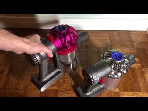 dyson v7 vs v6 motorhead vacuum comparison youtube. Black Bedroom Furniture Sets. Home Design Ideas