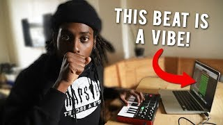 I MADE A VIBE! Making a Beat From Scratch Logic Pro X