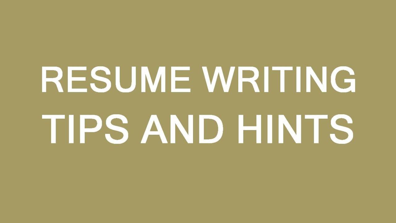 Resume writing tips for newcomers to Canada LP Group YouTube