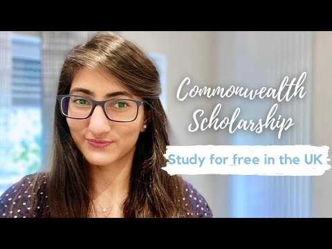Do Masters For Free in the UK - Commonwealth Scholarship 2020