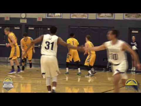 ~FULL GAME Highlights~ 2017 #RMACmbb Tournament Championship Game: Colorado Mines vs Fort Lewis