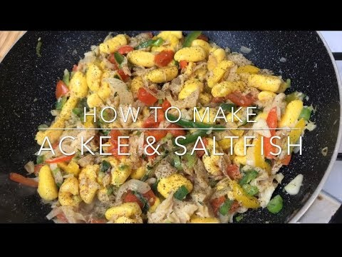 HOW TO MAKE ACKEE AND SALTFISH || TERRI-ANN'S KITCHEN