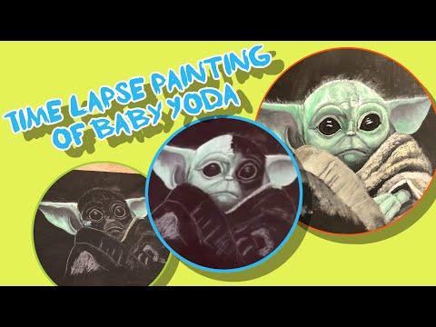 Baby Yoda Fan Art | Speedpaint