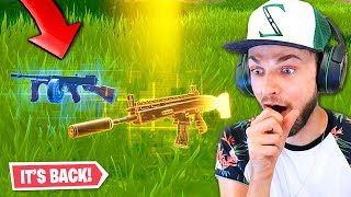 the Drum Gun is *BACK* in Fortnite!