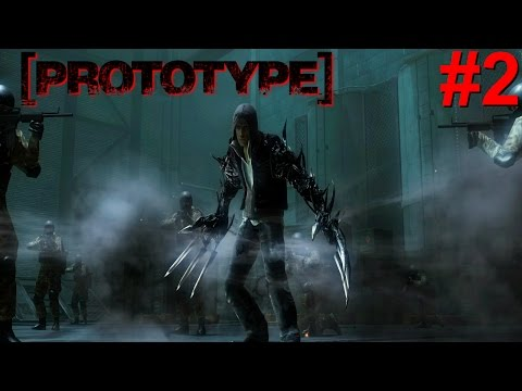 Prototype PS3 Gameplay #2 [Alex Mercer Don't Play!!]