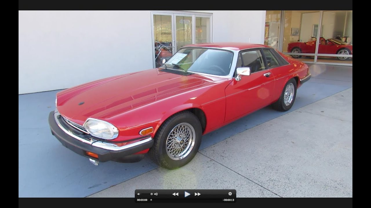 1989 Jaguar XJS V12 Start Up, Exhaust, And In Depth Tour   YouTube