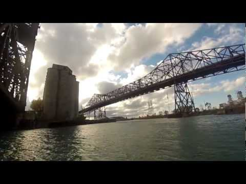 Calumet River Float on Stand Up Paddle Board