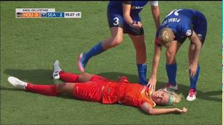 Rachel Daly Collapses During Match in Houston 5/27/2017