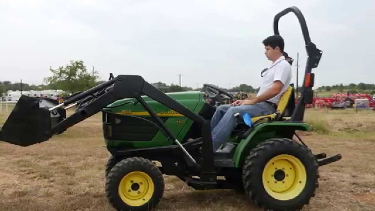 Demo Of John Deere 4010 With Loader Youtube. Demo Of John Deere 4010 With Loader. John Deere. John Deere Lv4010 Hst Wiring At Scoala.co
