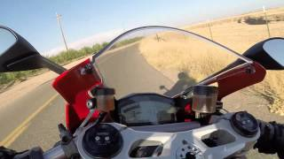 DUCATI PANIGALE 899--Back Road Twistys on a Summer Day