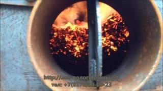 Углевыжигательная печь для производства древесного угля