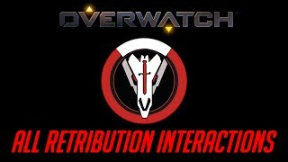 Overwatch - All Retribution Interactions
