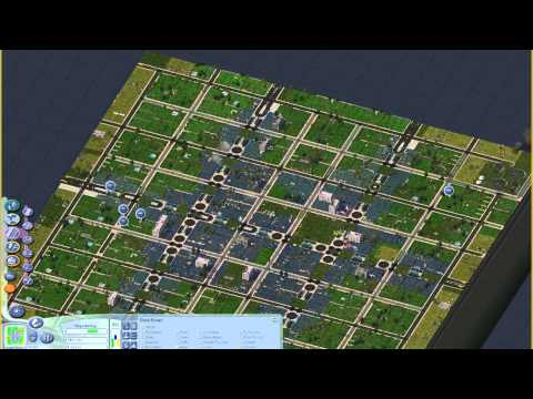 SimCity 4 - Transportation Mods - Adding light rail in-avenue to the little city