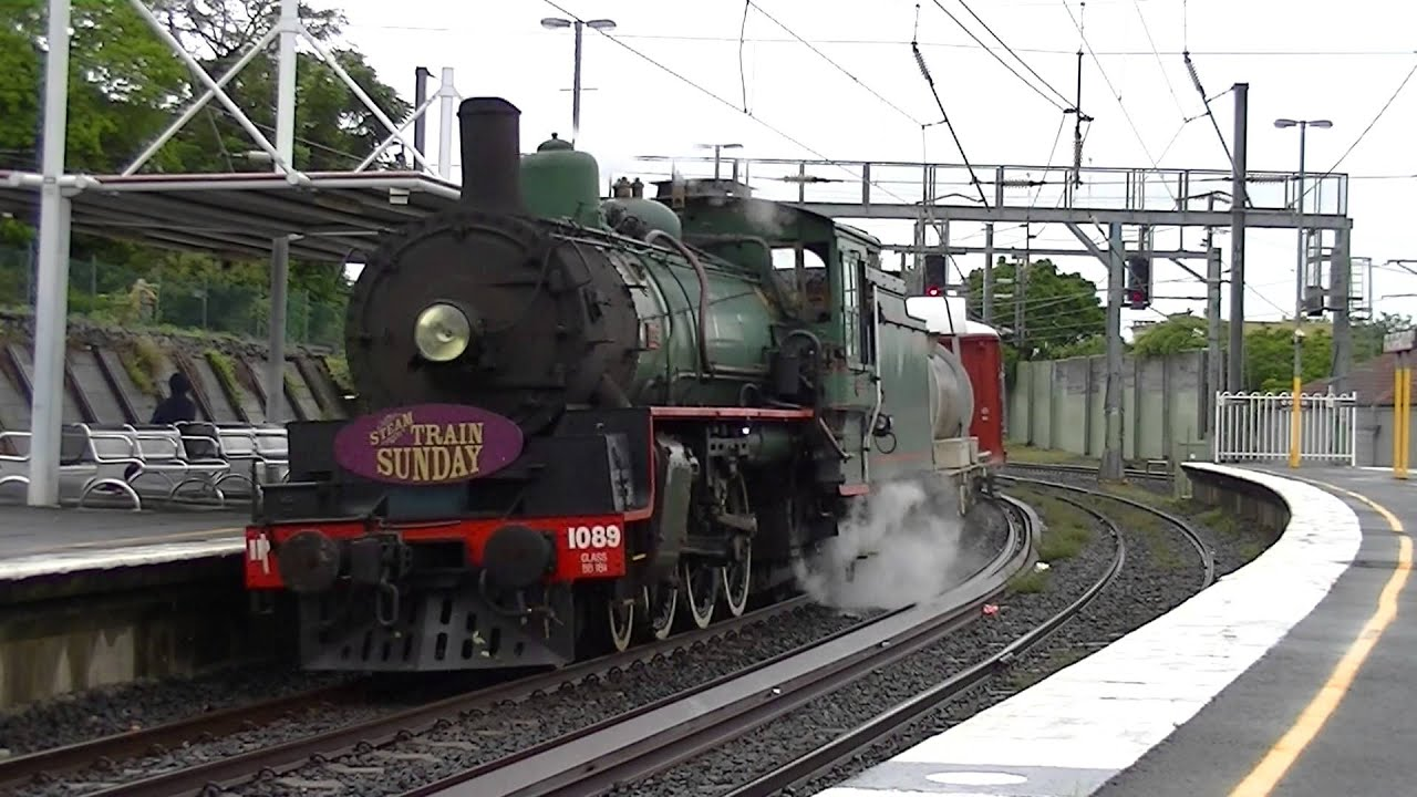Australian Steam Locomotives Queensland Rail Steam