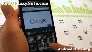 Anbu  SlimWizz2 ROM for Rooted Galaxy Note GT N7000! TouchWiz Tablet Mode   YouTube