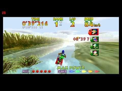 Wave Race 64 - Drake Lake - widescreen 720p