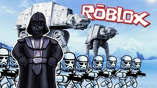 Roblox | DARTH VADERS IMPERIAL ARMY ATTACKS - Star Wars Tycoon! (Roblox Adventures)