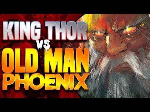 Marvel Legacy: King Thor VS Old Man Phoenix