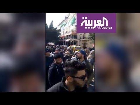 آلاف المتظاهرين احتجاجا على ترشح بوتفليقة للانتخابات الرئاسية  - 20:54-2019 / 2 / 22