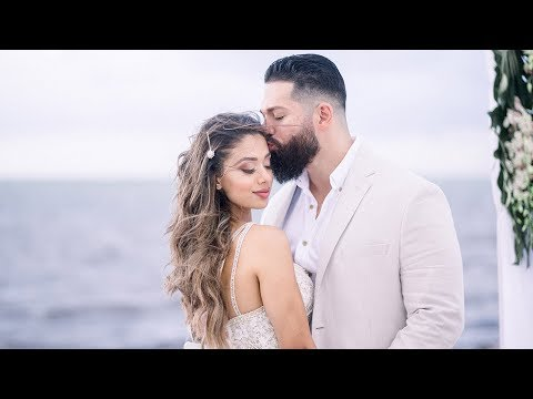 OUR WEDDING | Lais & Beau | Beach Elopement