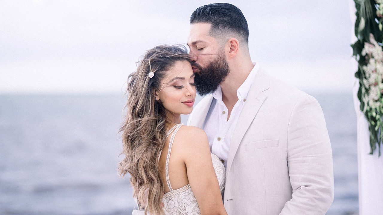 OUR WEDDING   Lais & Beau   Beach Elopement