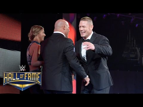 Thumbnail: Kurt Angle is welcomed home to WWE by John Cena: WWE Hall of Fame 2017 (WWE Network Exclusive)